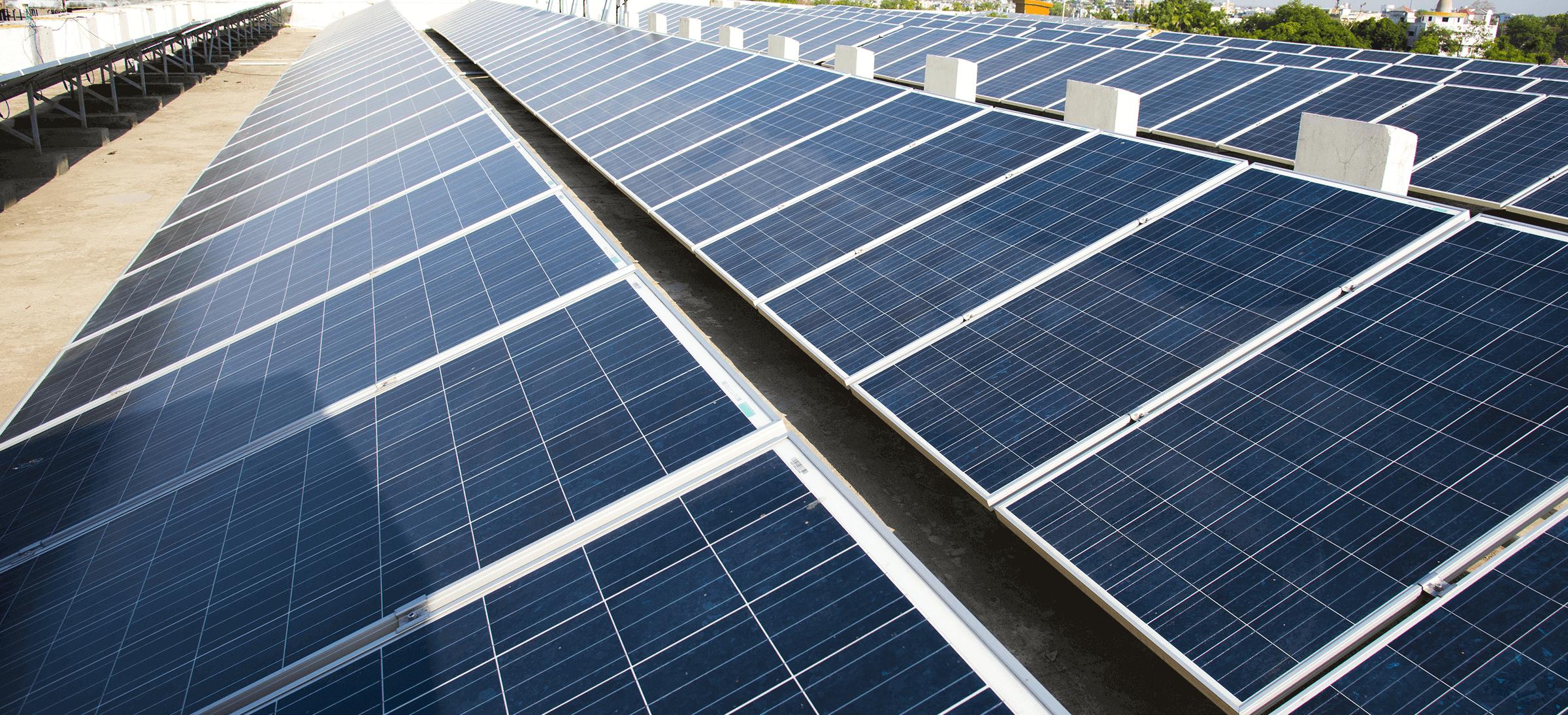 B2B dak zonnepanelen
