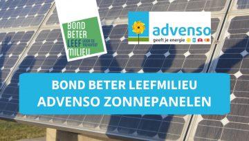 Bond Beter Leefmilieu kiest Advenso als structurele partner in hernieuwbare energie