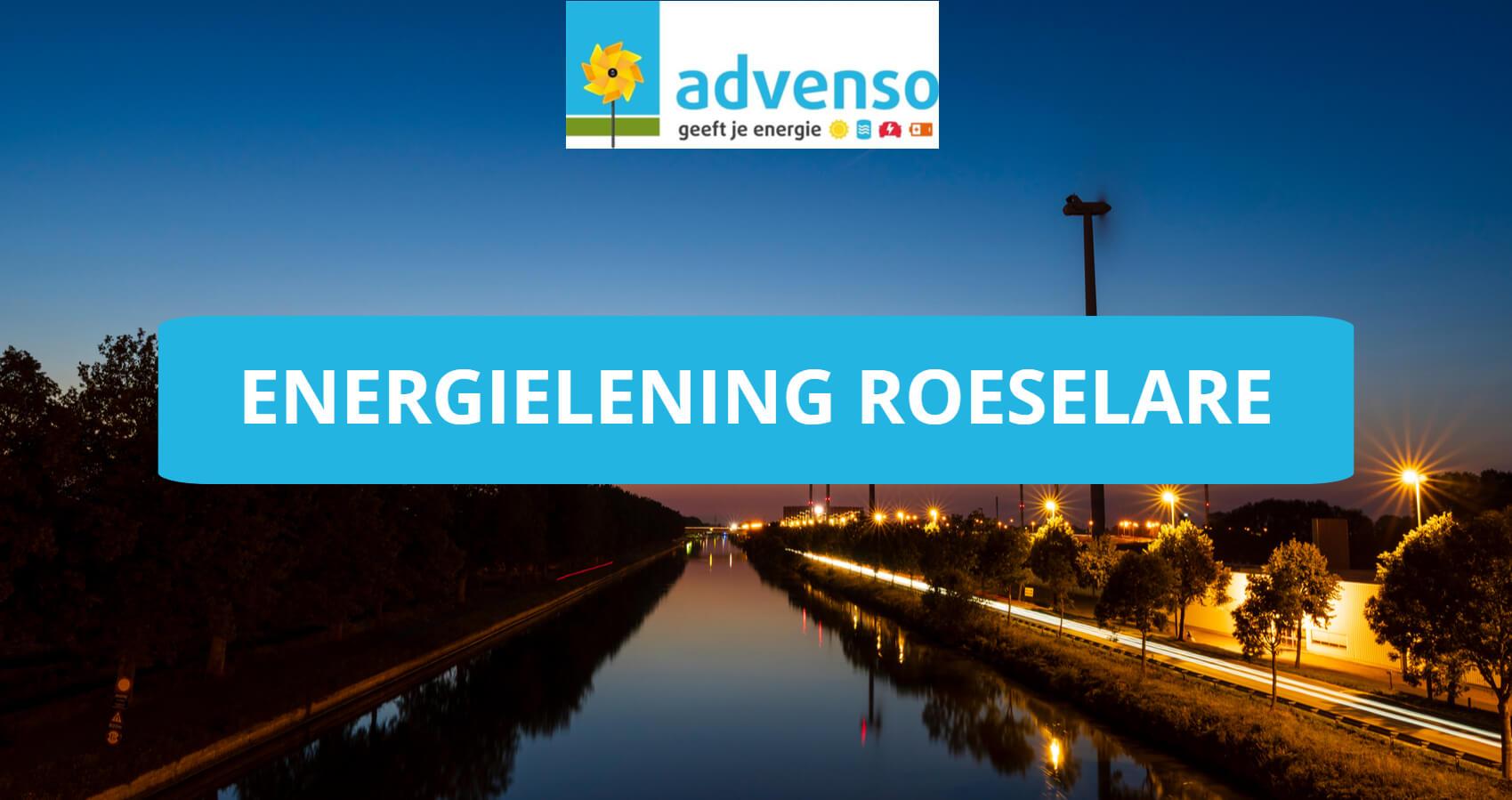 Energielening stad Roeselare