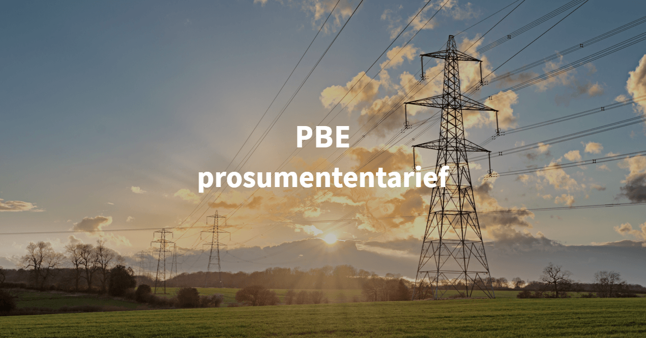 PBE prosumententarief