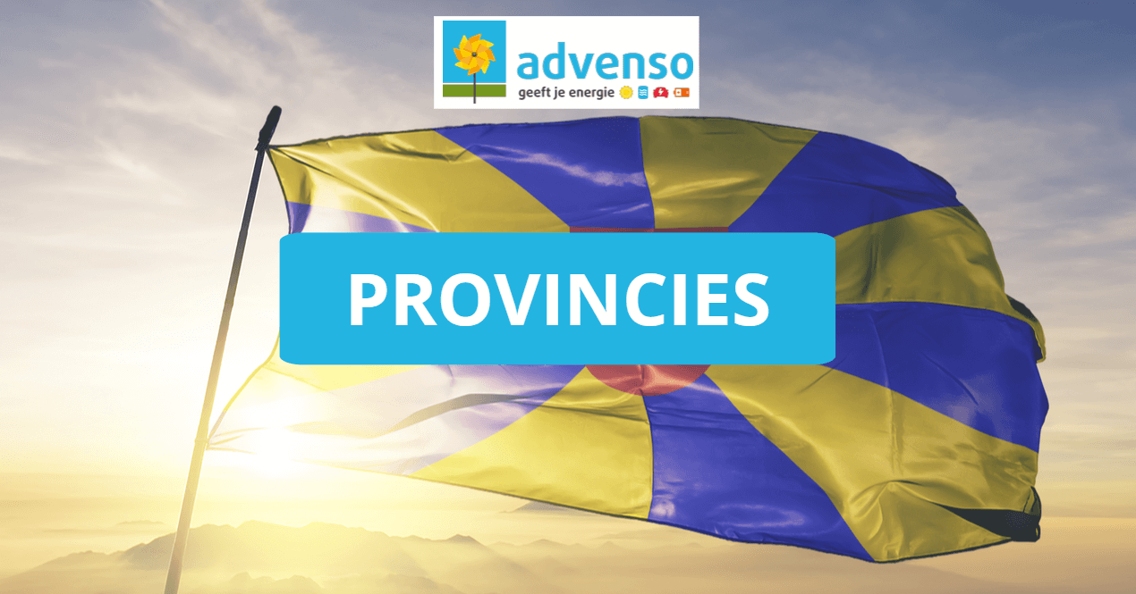 Provincies voor zonnepanelen Advenso - West-Vlaanderen