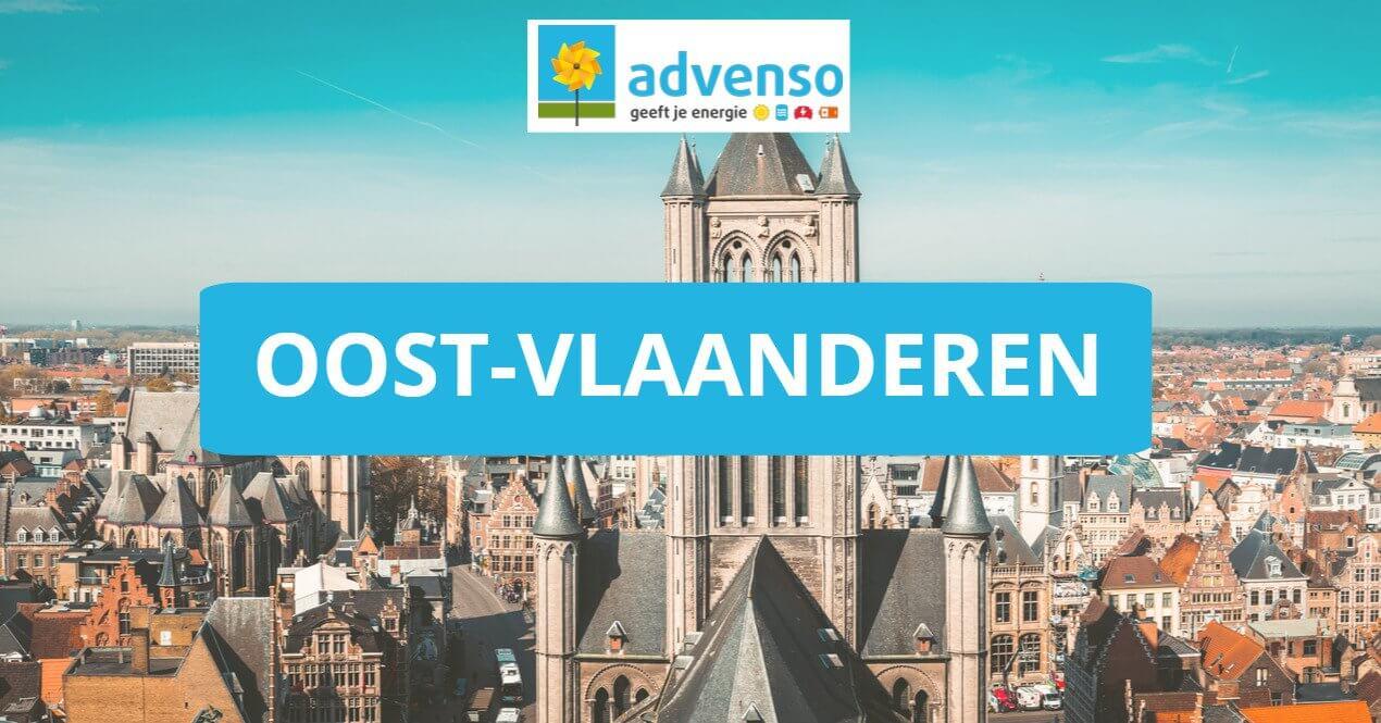 Zonnepanelen in Oost-Vlaanderen