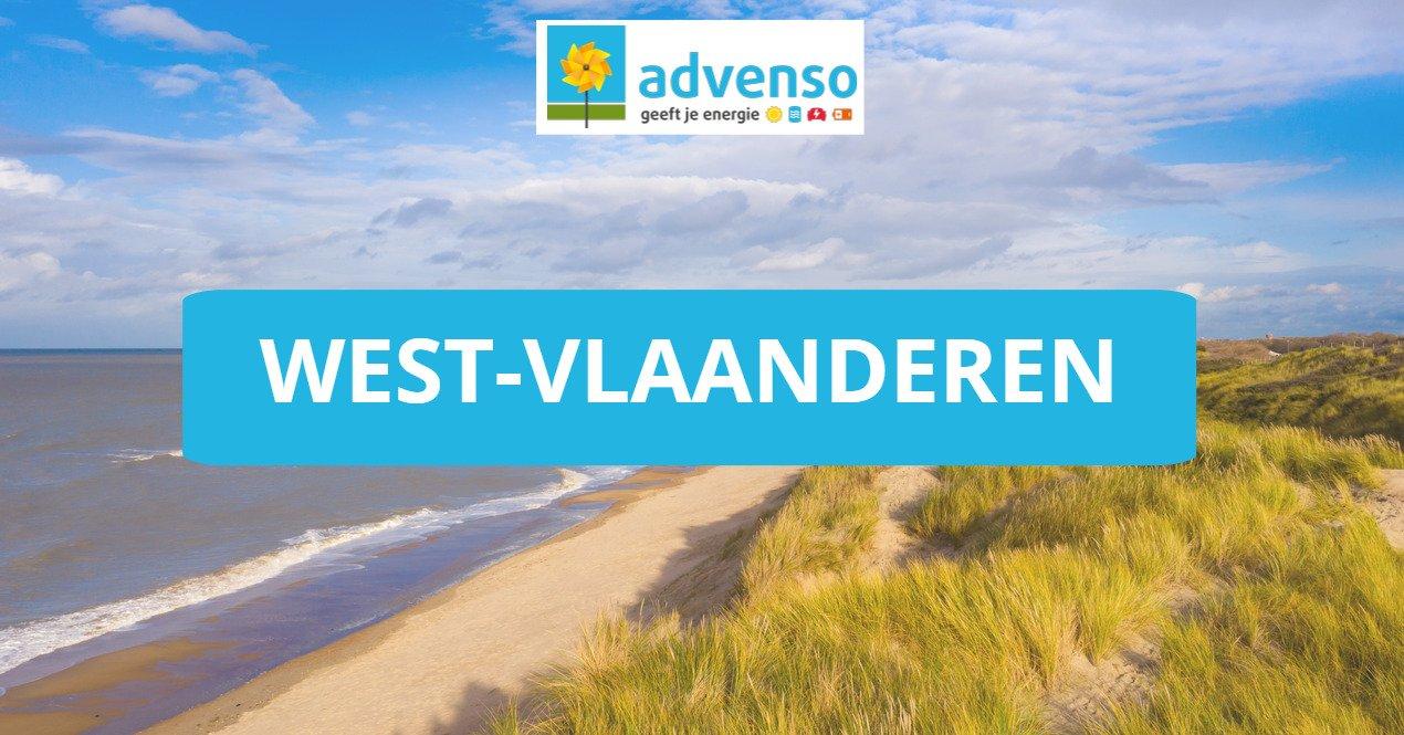 Zonnepanelen in West-Vlaanderen