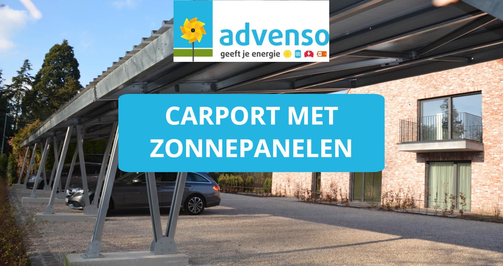Zonnepanelen op carport plaatsen